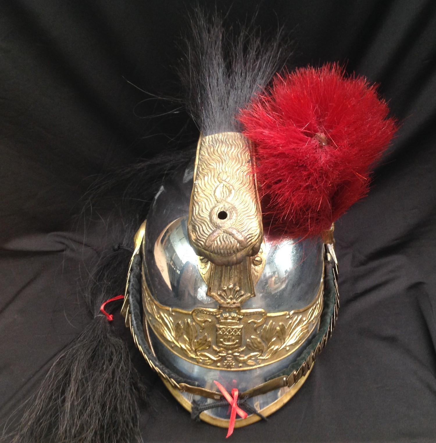"""French Republican Guard of the City of Paris Cuirassier helmet. Maker marked to rear of helmet """" - Image 2 of 12"""