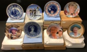 Collector's Plates - Franklin Mint, Bradford Exchange, Royal Albert, Danbury Mint, mostlt boxed with