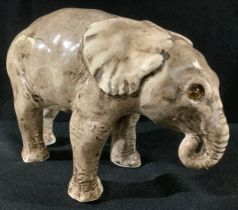An unusual model of a Winstanley elephant, 20cm long, 15cm high, size 3, painted marks