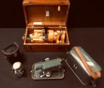 A Vickers CTS VTI-6 surveyors sighting level, orange body, V222503 serial Number, cased' others