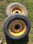 2 x Wheel and Tyres
