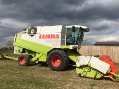 1997 Claas Lexion 410 Combine, 18ft Header & Trailer, 3674 hours