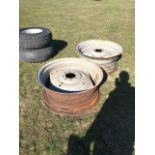 2 Wheel Rims 16x9 R34