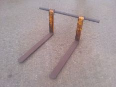 JCB loadall pallet forks , suitable for the JCB Quick fit headstock