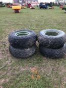 4 Implement wheels, rims and tyres. 14.5/80-18