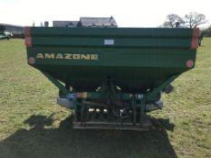 2003 Amazone ZA-M 1500 maxis fertiliser spreader. Tidy condition
