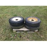 4 x Land Rover Wheel & Tyres