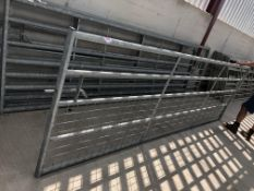 Agriculturial 12ft Mesh Gate