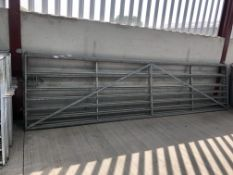 Agriculturial 15ft Gate