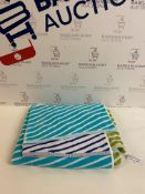 Pure Cotton Zig Zag Beach Towel
