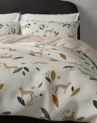 Cotton Rich Cheetah Bedding Set, Single