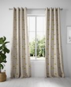 Layla Circles Eyelet Curtains RRP £79