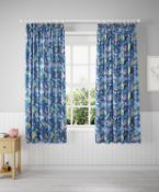 Glow In The Dark Under The Sea Blackout Kids Curtains RRP £69