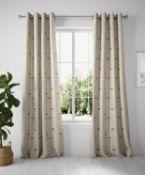 Layla Circles Eyelet Curtains RRP £89
