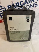 Anti Allergi Synthetic 4.5 Tog Duvet, King Size RRP £49.50