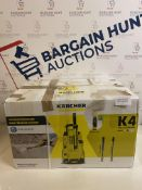 Karcher K4 Full Control Pressure Washer (body cracked see image) RRP £200