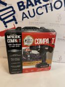 Mylek 18V Cordless Drill Combi Set (for contents, see image)