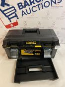 Stanley FatMax Waterproof Toolbox (needs attention, guide rod missing see image)