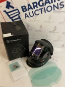 Solar Automatic Welding Helmet with Ultra-Large Screen and True Colour RRP £65