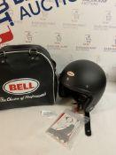 Bell Helmets 7050049 Street 2015 Custom 500 Adult Helmet, Matte Black Solid, XS RRP £149