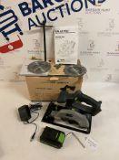 GALAX PRO 140mm Cordless Circular Saw 20V with 2 Blades RRP £80