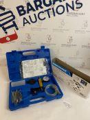 Silverline Tools 734801 Vacuum Tester & Brake Bleeding Kit