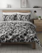 Easycare Cotton Mix Circle Bedding Set, Super King