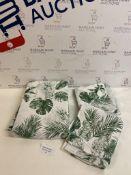 Easycare Cotton Blend Tallulah Parrot Print Bedding Set, Super King