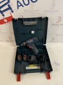 Bosch GSB 120 - Li Professional Drill Driver, 2 Batteries and charger (faulty, doesn't stay on)