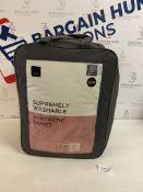 Supremely Washable Synthetic 13.5 Tog Duvet, Super King RRP £49.50