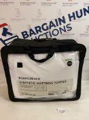 Bounceback Synthetic Mattress Topper, King Size RRP £59