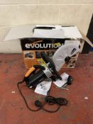 Evolution Power Tools Electric Disc Cutter (no power) RRP £230
