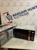 Tower Digital Solo Microwave, Rose Gold (some rust/ dirt, see image) RRP £100