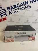 Brabantia Rectangular Fall Front Bread Bin RRP £40