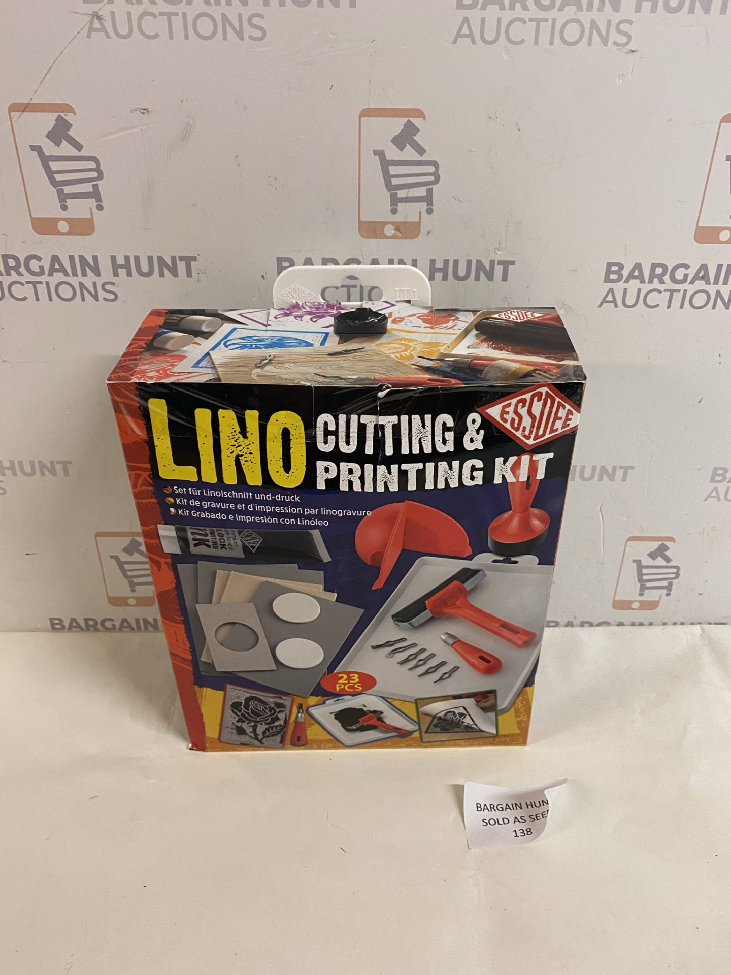 Lino Cutting & Printing Kit (for contents, see image)