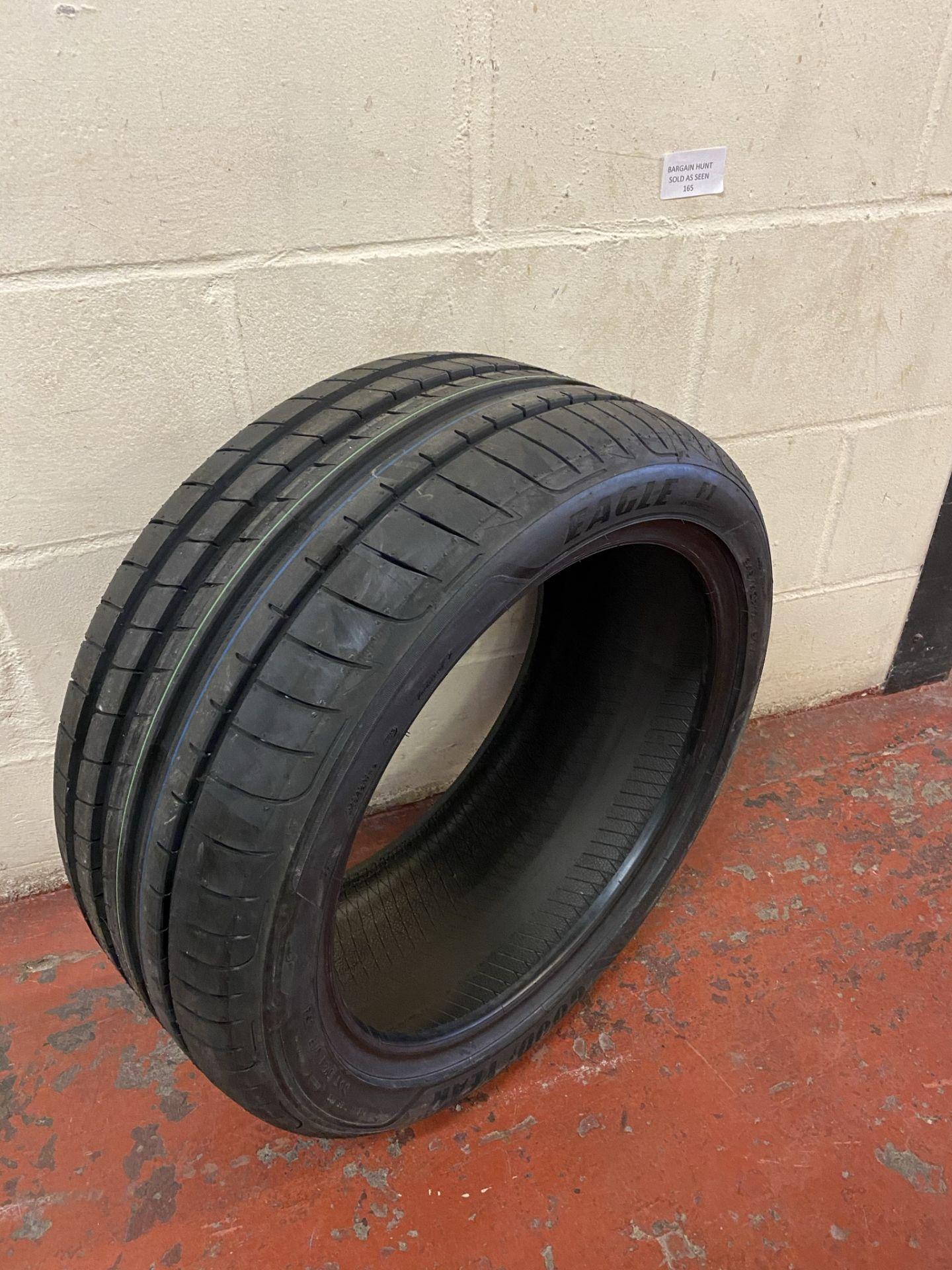 Goodyear Eagle F1 Asymmetric 3 FP - 245/40R17 91Y - Summer Tire RRP £100 - Image 2 of 2