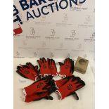 TraffiGlove Classic Work Gloves, 5 Pairs