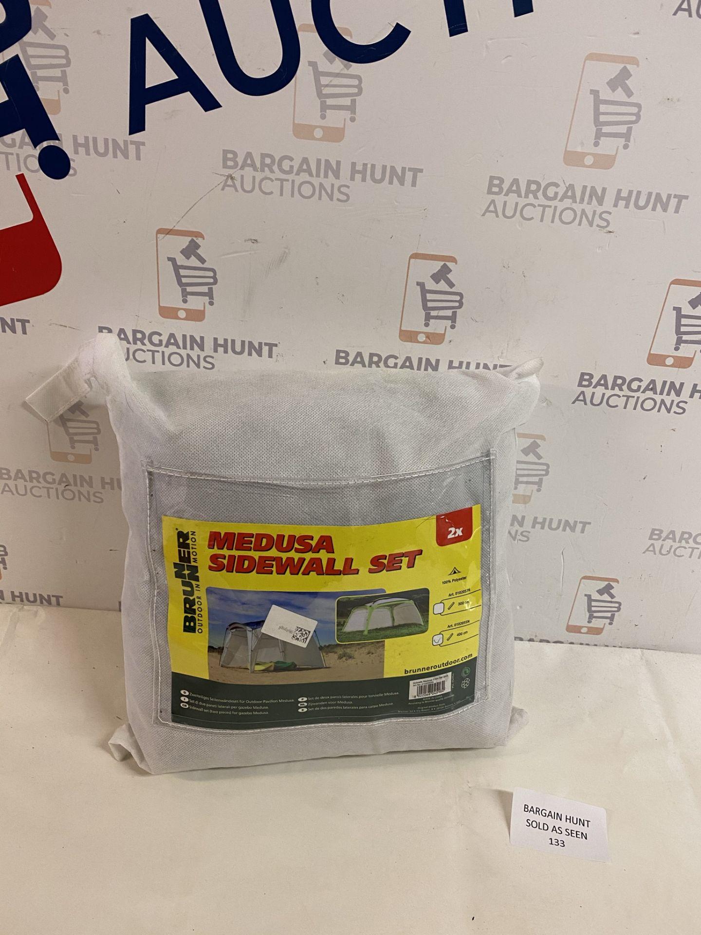 Brunner Sidewall Set for Gazebo Medusa 4mt RRP £40