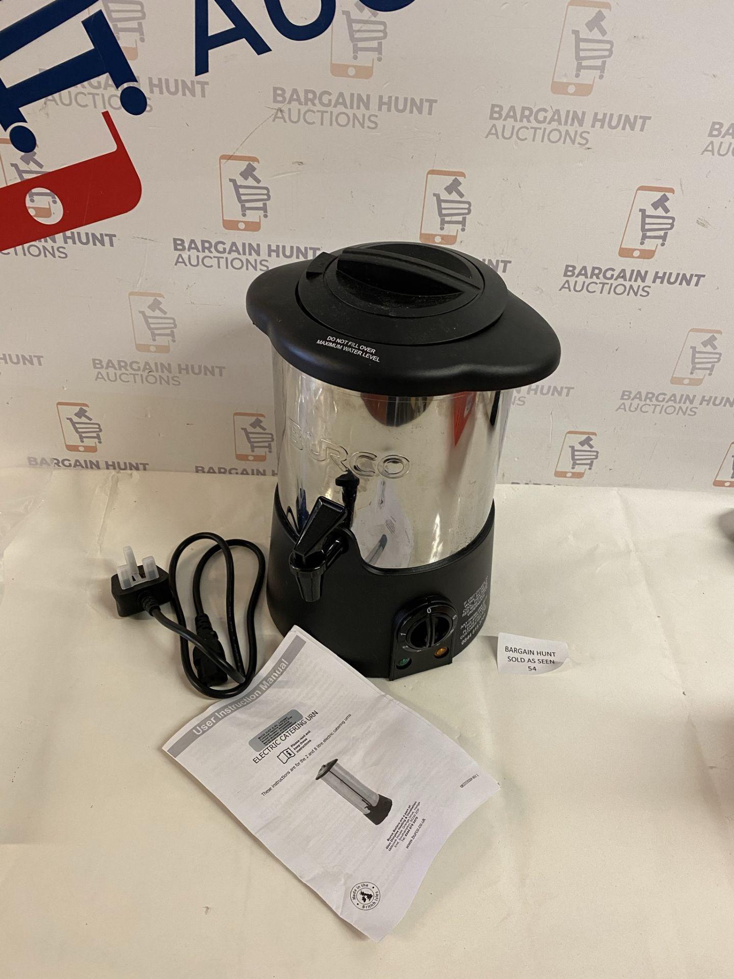 Burco Manual Fill Water Boiler, 2.5L Stainless Steel RRP £55