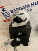 AGV K1 Solid Full Face Motorcycle Helmet, Small RRP £130