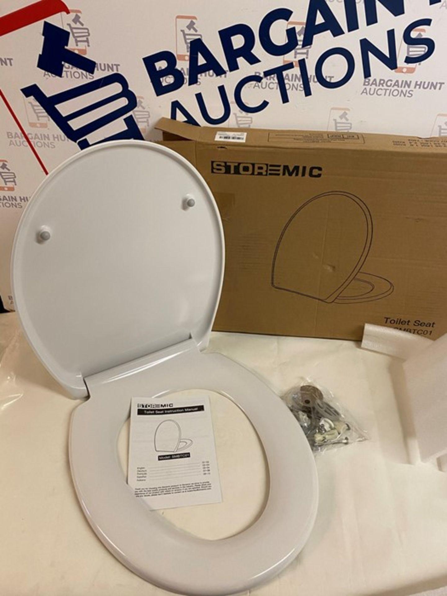 Storemic White Toilet Seat