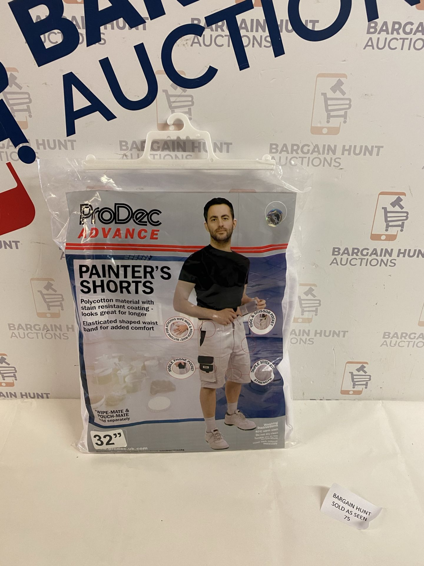 ProDec Painter's Shorts, W 32