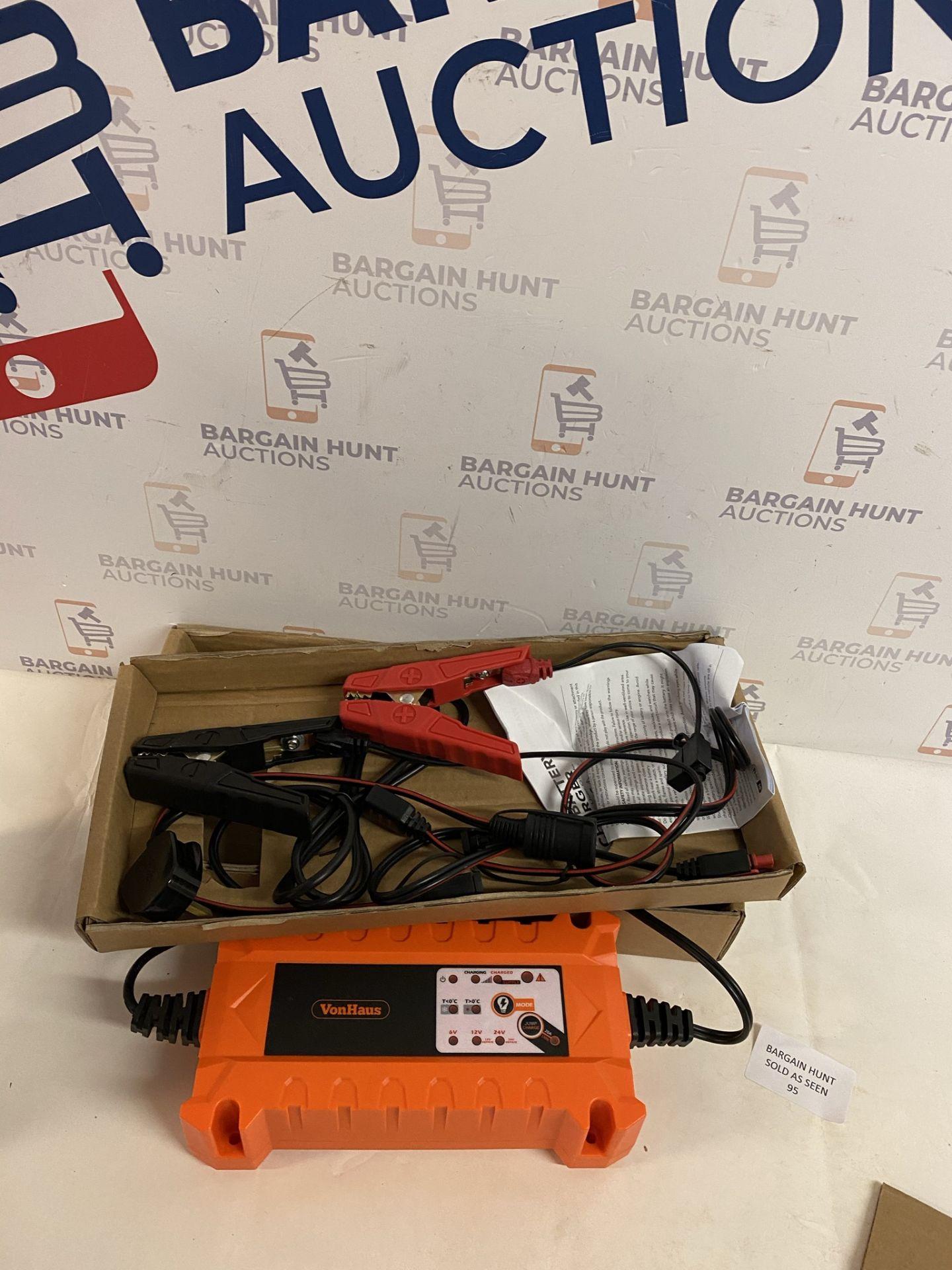 VonHaus Automatic Car Battery Charger