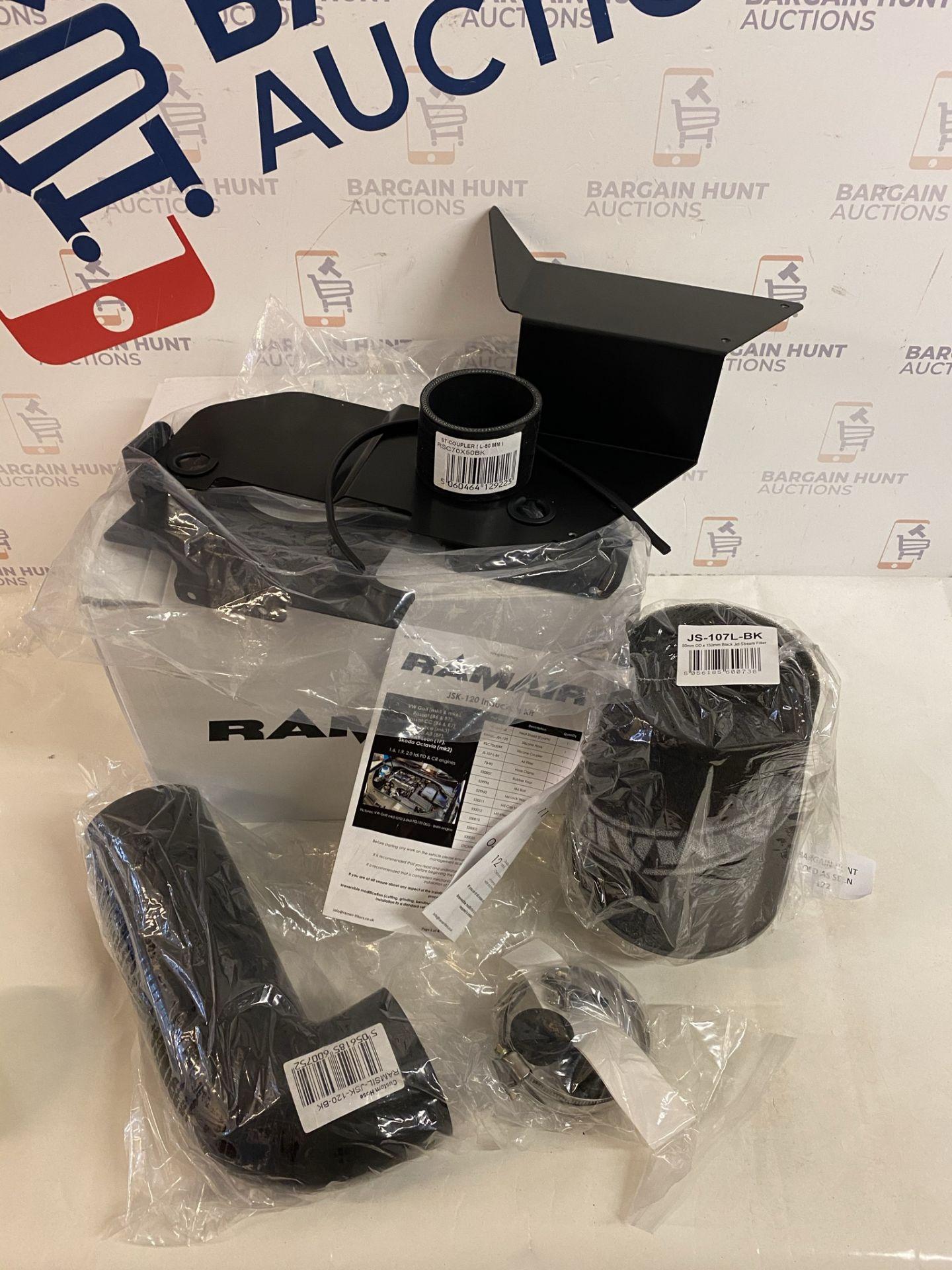 Ramair Filters JSK-120-BK 2.0TDI Heat Shield Air Filter Induction Intake Kit RRP £145
