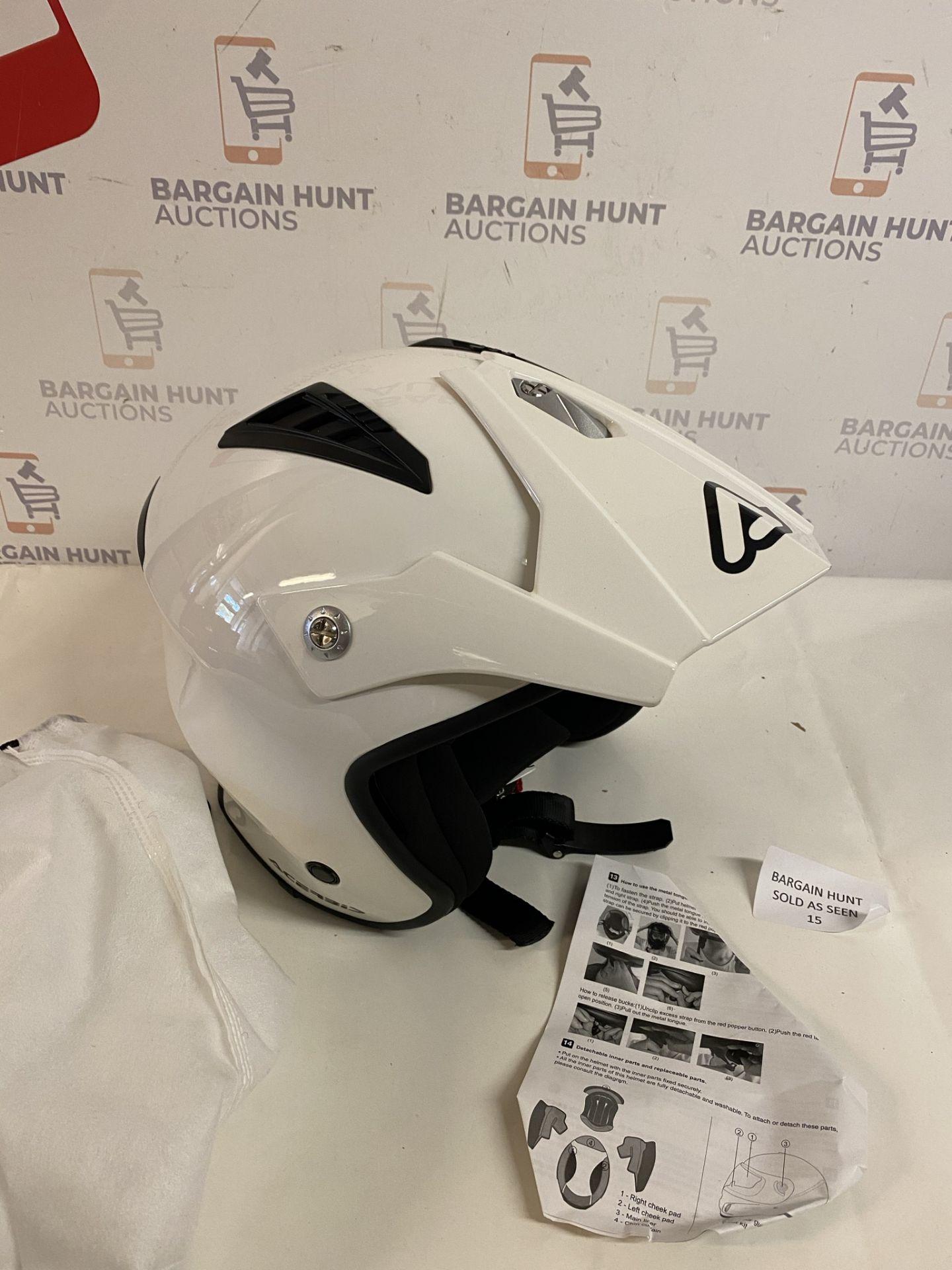 Acerbis All Use Street Helmet, White, Large