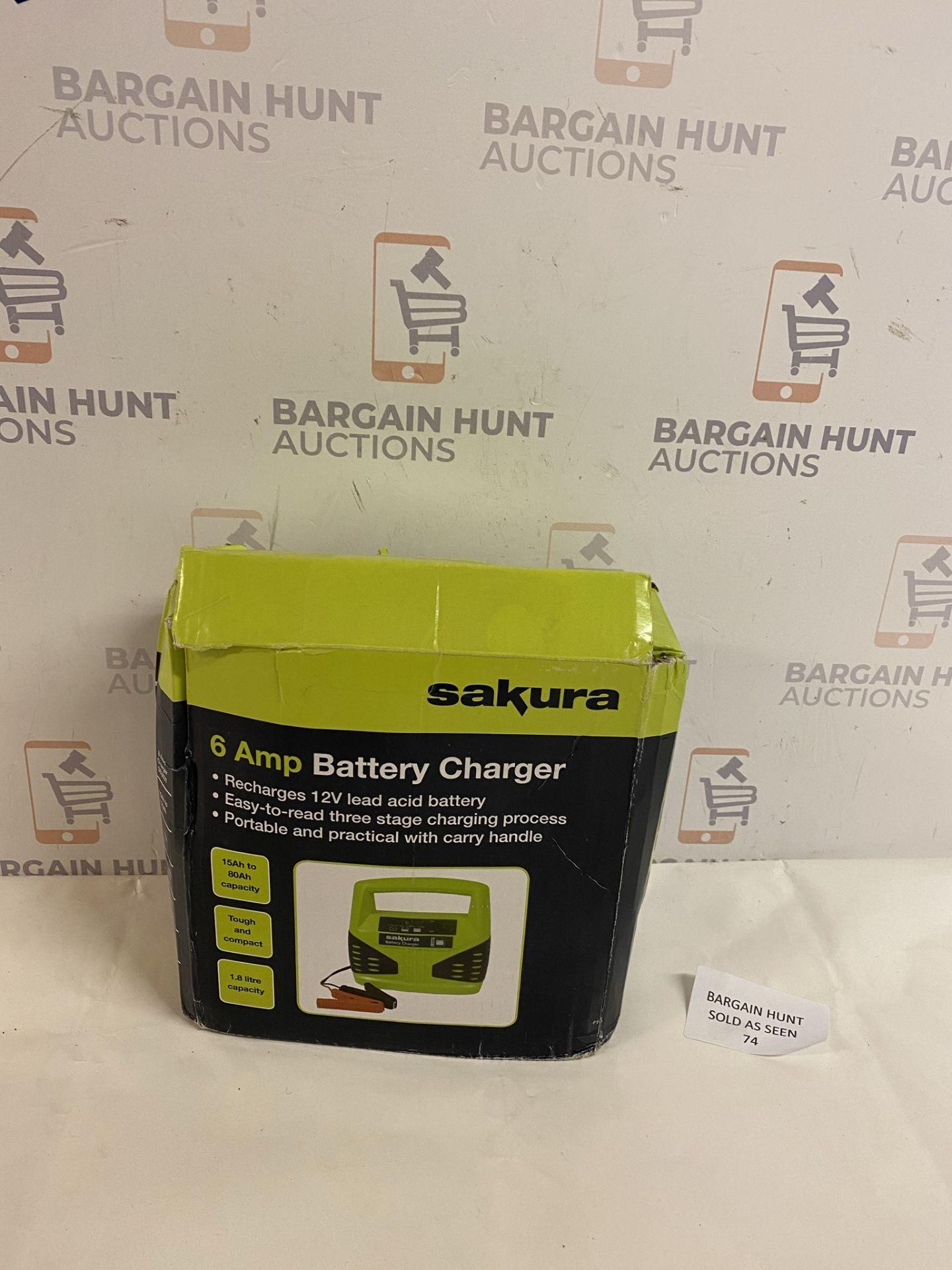Sakura 6 Amp Battery Charger