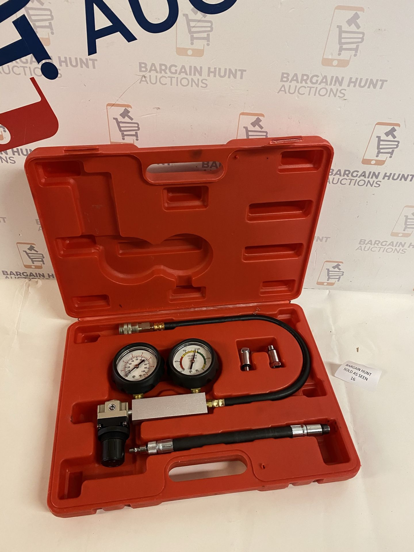 Sealey Petrol Engine Cylinder Leakage Tester RRP £65