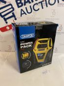 Draper 12V Power Pack (minor crack and rear cover broken, see image) RRP £75