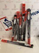 Set of Wiper Blades, 7 Packs RRP £15 Each