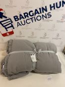 Super Soft Washed Quilted Throw RRP £59